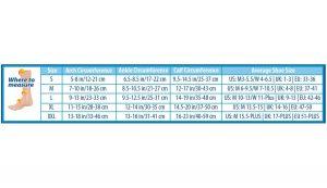 fs6 size chart