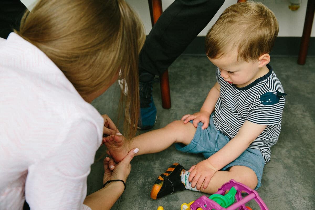 Children Feet